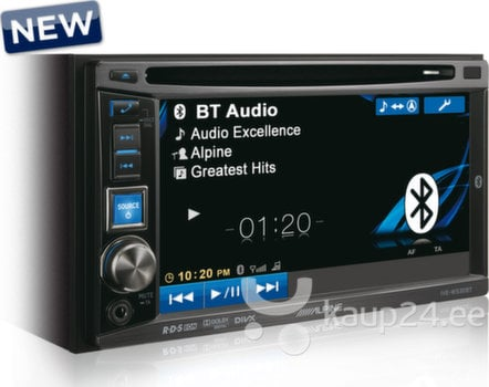 2 DIN autoraadio Alpine IVE W530BT