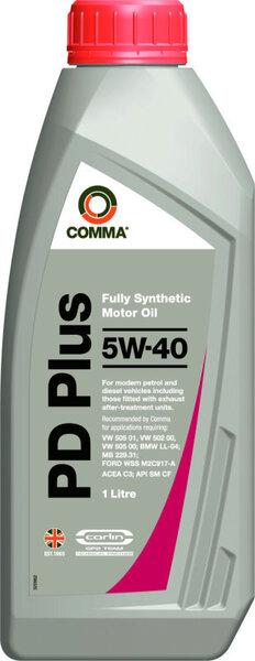 Mootoriõli Comma DIESEL PD 5W-40, täissünteetiline, 1L цена и информация | Mootoriõlid | kaup24.ee