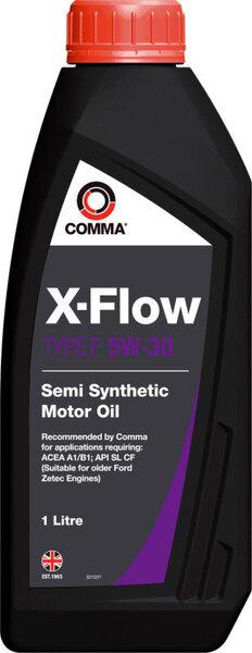 Mootoriõli Comma X-FLOW TYPE F 5W30, 1L цена и информация | Mootoriõlid | kaup24.ee