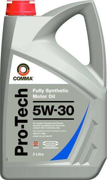 Mootoriõli Comma PRO-TECH 5W-30, täissünteetiline, 5L цена и информация | Mootoriõlid | kaup24.ee