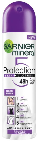 Deodorant Garnier Mineral Protection 5, 150 ml