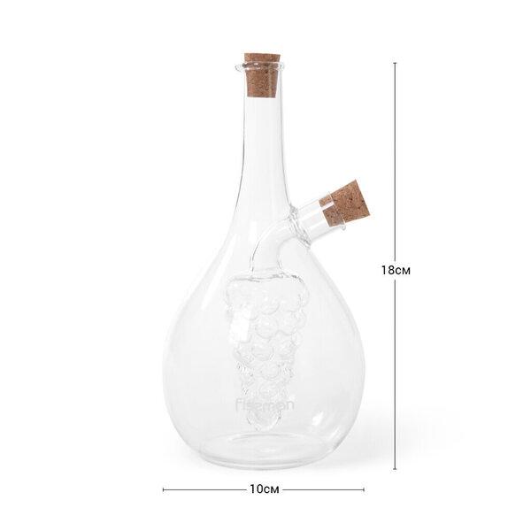 Õli- ja äädikapudel Fissman 2-in-1, 40/450 ml Internetist