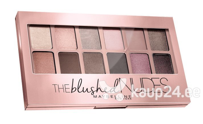 Палетка Blushed Nudes Maybelline цена и информация | Silmadele | kaup24.ee