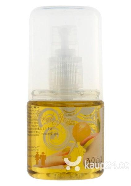 Vaniljemaitseline geel Oral Joy Vanilla
