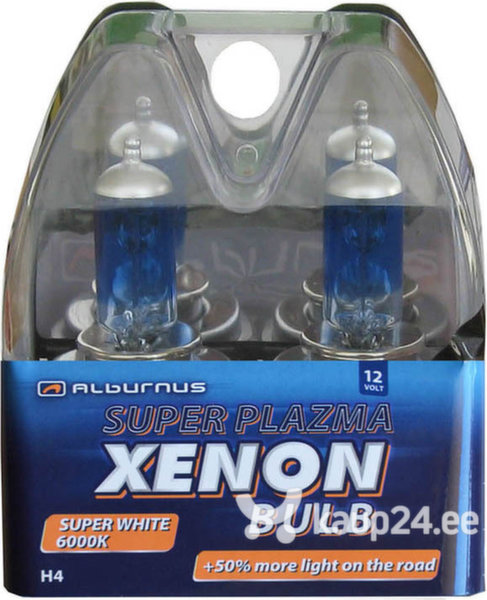 Alburnus Superplazma +50% pirn H1 55W 12V P14.5s цена и информация | Autopirnid | kaup24.ee