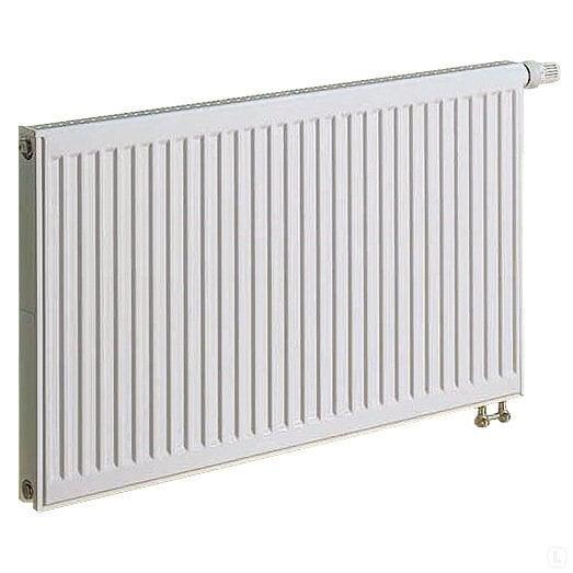 Radiaator KERMI 0.6 x 0.6 m, topelt, põhja integreeritud ventiiliga hind ja info | Keskkütteradiaatorid | kaup24.ee