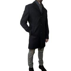 Must mantel 176, Branchess hind ja info | Meeste mantlid | kaup24.ee