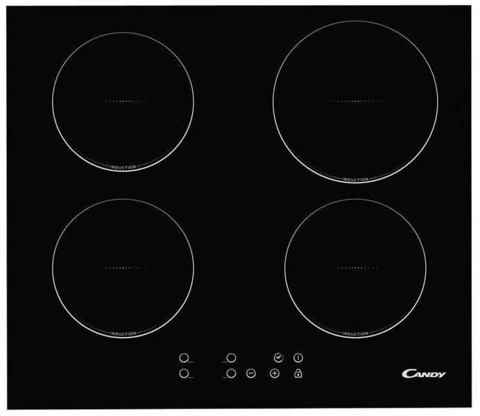 Integreeritav pliidiplaat Candy CI 640C цена и информация | Integreeritavad pliidiplaadid | kaup24.ee
