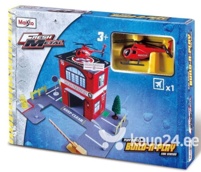 Päästejaam koos helikopteriga Maisto Die Cast, 12520 цена и информация | Poiste mänguasjad | kaup24.ee