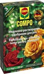 Pikaajaline rooside väetis COMPO, 1 kg