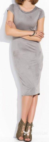 Naiste kleit Makadamia, hall цена и информация | Kleidid | kaup24.ee