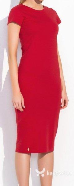 Naiste kleit Makadamia III, punane