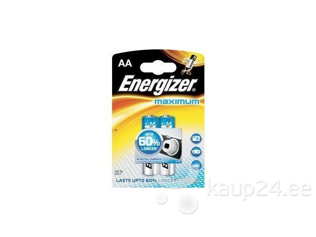 Patarei ENERGIZER MAXIMUM AA 2tk