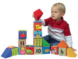 Pehmed klotsid K's Kids Block N Learn hind ja info | Imikute mänguasjad | kaup24.ee