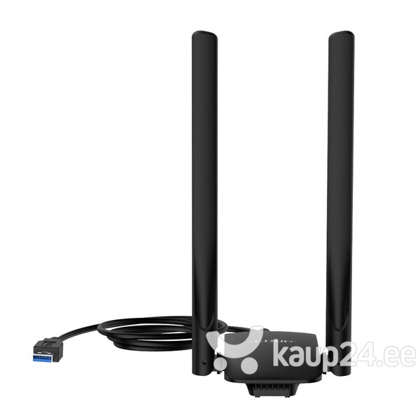 EDUP EP - AC1691 1300Mbps Dual Band USB WiFi Adapter 2.4GHz / 5.8GHz / 802.11AC / Välise antenni must tagasiside