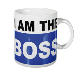 Tass I am the BOSS, 900 ml