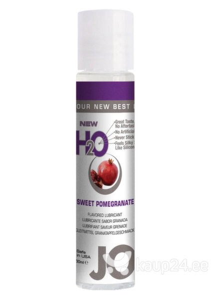 Lubrikant JO H2O Sweet Pomegranate 30 ml цена и информация | Lubrikandid | kaup24.ee