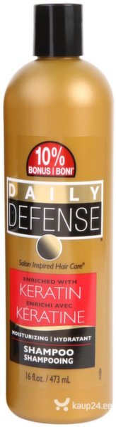 Šampoon keratiiniga Daily Defense Keratin, 473 ml цена и информация | Šampoonid | kaup24.ee