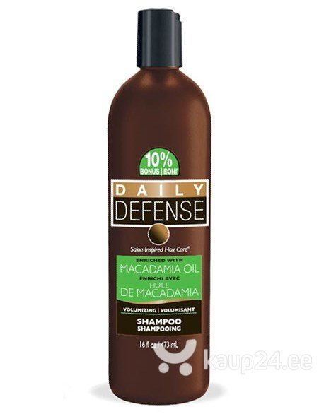 Šampoon makadaamiaõliga Daily Defense Macadamia Oil, 473 ml