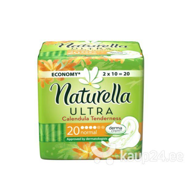 Hügieenisidemed Naturella Ultra Normal saialill, 20 tk цена и информация | Hügieenisidemed, tampoonid, isiklik hügieen | kaup24.ee