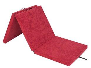 Kokkupandav madrats Hobbygarden Ben XL, 195x80 cm, punane hind ja info | Madratsid | kaup24.ee