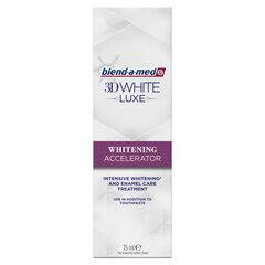 Средство для отбеливания зубов Blend A Med 3DW Luxe Whiten Accel, 75 мл цена и информация | Зубные щетки, пасты | kaup24.ee