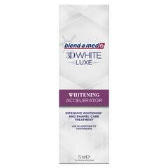 Средство для отбеливания зубов Blend A Med 3DW Luxe Whiten Accel, 75 мл