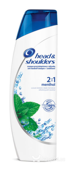 Šampoon Head&Shoulders Menthol 2in1 225ml цена и информация | Šampoonid | kaup24.ee