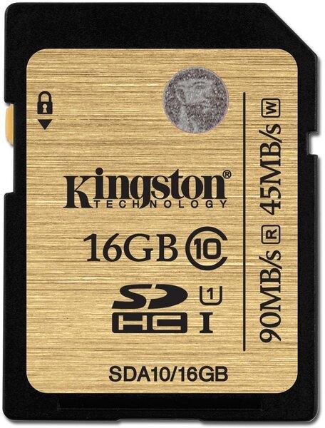 Kingston 16 GB SDHC, UHS-I Class