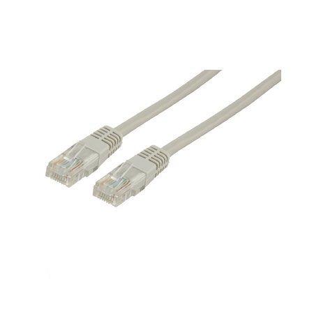 PatchUTP CAT5+ ühenduskaabel koos pistikutega 0.5m (hall)