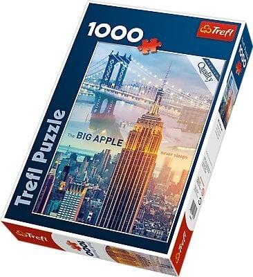 Pusle New York Trefl, 1000 detaili цена и информация | Puzzle, mõistatused | kaup24.ee