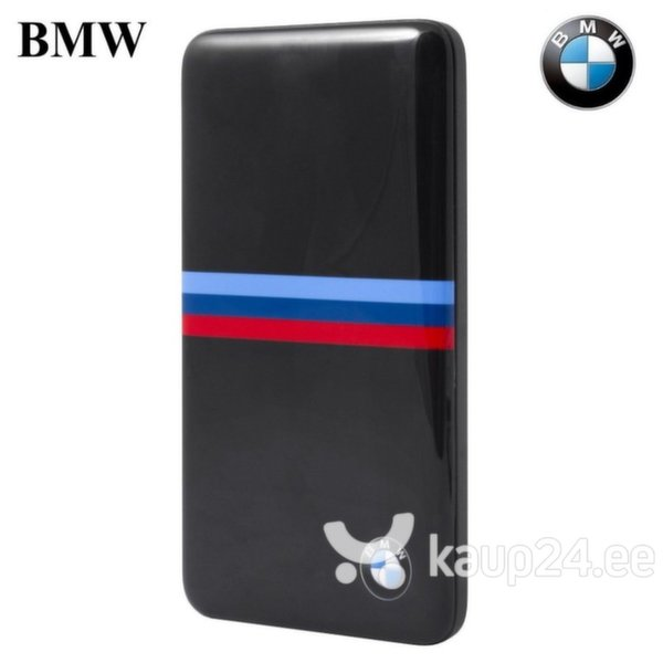 Akupank BMW BMPBSBN M-Power Power Bank 4800mAh + MicroUSB kaabel, must цена и информация | Akupank | kaup24.ee