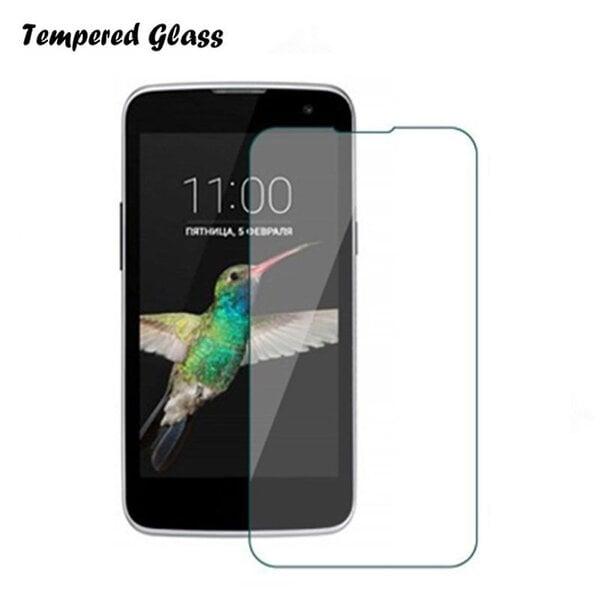 Ekraani kaitsekile Tempered Glass sobib LG K4 K120E цена и информация | Ekraani kaitsekiled | kaup24.ee