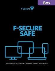 Viirusetõrje F-Secure Safe 12 kuuline litsents, 3 seadet