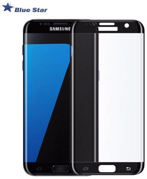 Ekraani kaitsekile BS Tempered Glass sobib Samsung Galaxy S7 Edge (G935F), must raam цена и информация | Ekraani kaitsekiled | kaup24.ee