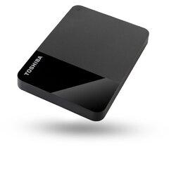 Toshiba External Hard Drive Canvio Ready, 2TB HDD hind ja info | Toshiba External Hard Drive Canvio Ready, 2TB HDD | kaup24.ee
