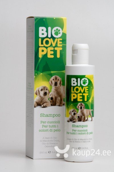 Šampoon noortele kutsikatele Bema Eco Bio Love Pet 250 ml цена и информация | Hooldusvahendid | kaup24.ee