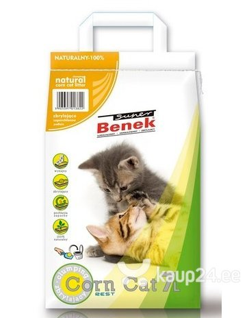 Kassiliiv Super Benek Corn Cat 7 L цена и информация | Kassiliiv | kaup24.ee