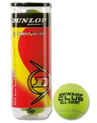Tennisepallid Dunlop Club All Court
