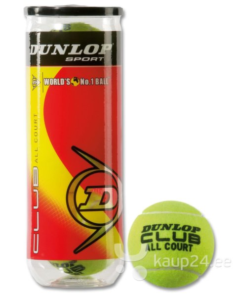 Tennisepallid Dunlop Club All Court hind ja info | Tennis | kaup24.ee