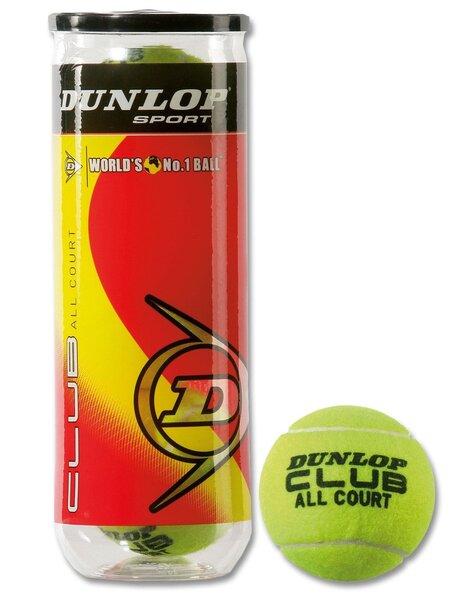 Tennisepallid Dunlop Club All Court hind ja info | Tennis | kaup24.ee