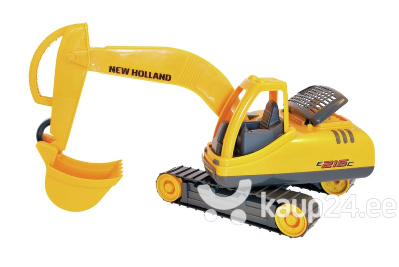Laste ekskavaator Adriatic New Holland, 64 cm, 40433 цена и информация | Poiste mänguasjad | kaup24.ee
