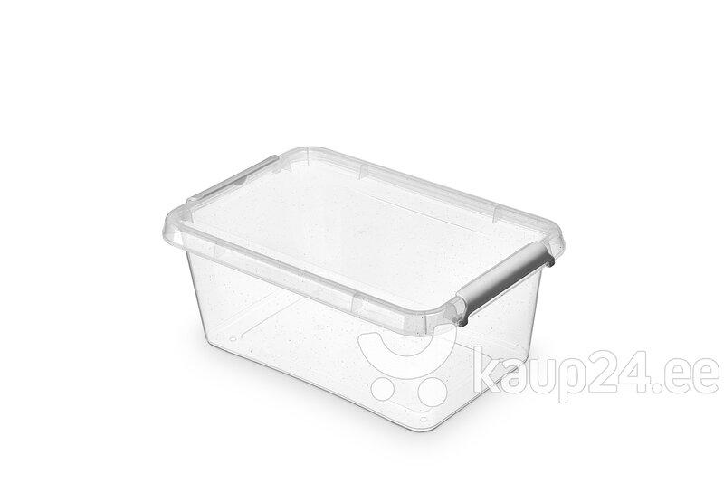 Hoiukast Orplast NANOBOX, 4,5 L цена и информация | Hoiukastid ja pesukorvid | kaup24.ee