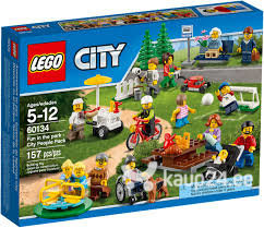 Klotsid LEGO™ City Fun in the park - City People 60134 цена и информация | Kokkupandavad mänguasjad | kaup24.ee
