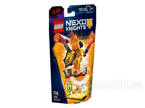 Klotsid LEGO™ Nexo Knights Ultimate Flama 70339 цена и информация | Kokkupandavad mänguasjad | kaup24.ee