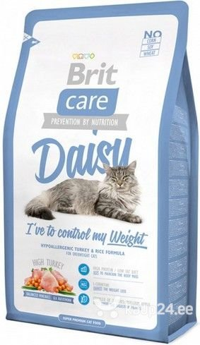 Kuivtoit kassidele Brit Care Cat Daisy Weight Control 0,4 kg цена и информация | Kuivtoit kassidele | kaup24.ee
