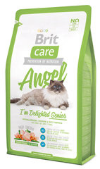 Kuivtoit kassidele Brit Care Cat Angel I'm Delighted Senior 2 kg