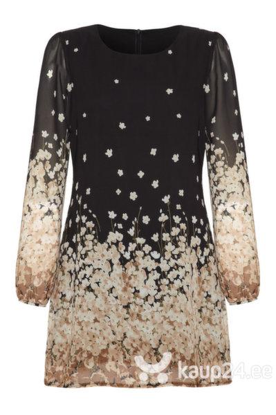 Naiste kleit Yumi, must15 цена и информация | Kleidid | kaup24.ee