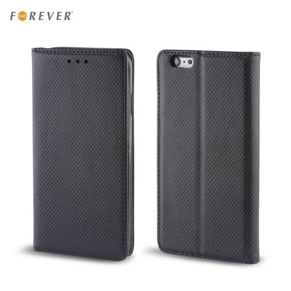 Kaitseümbris Forever Smart Magnetic Fix Book sobib LG H900 V10, must