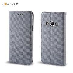 Kaitseümbris Forever Smart Magnetic Fix Book sobib Microsoft 550 Lumia, hall hind ja info | Mobiili ümbrised, kaaned | kaup24.ee